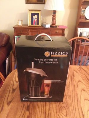 Fizzics Draft Beer System - New - Great Gift for Beer Lover - $30.00 for Sale in St. Louis, MO
