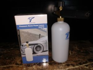 Twinkle Star 3000 PSI High Pressure Washer Gun Snow Foam Lance Cannon Foam for Sale in Buena Park, CA