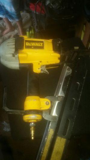 Nail gun dewalt for Sale in Renton, WA
