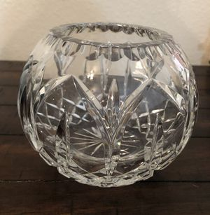 Waterford Crystal votive candle holder for Sale in Sugar Land, TX