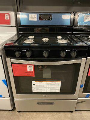 New Whirlpool Gas Range On Sale 1yr Factory Warranty for Sale in Gilbert, AZ