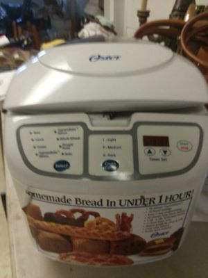 New Oster bread maker for Sale in Columbus, OH