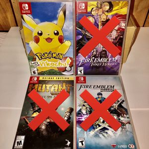 Nintendo Switch Games — NEW for Sale in La Palma, CA
