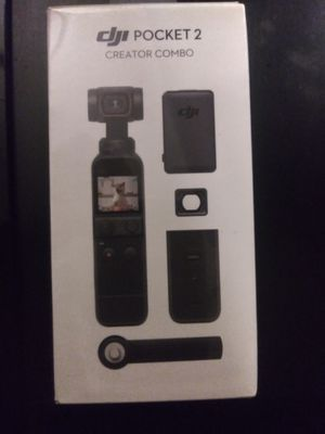 """""BRAND NEW IN THE BOX""""DJI POCKET 2 CREATOR COMBO-3 AXIS WITH STABALIZER 4K CAMERA for Sale in Hayward, CA"