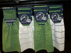 Seattle Seahawks Dish/BBQ Rags for Sale in Seattle, WA