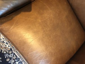 Leather Love Seat and Chair for Sale in Washington, DC