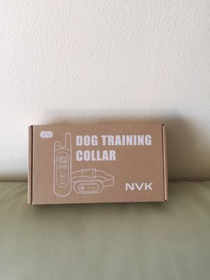 Dog Training Collar - Rechargeable Shock Collars for Dogs with Remote, 3 Training Modes, Beep, Vibration and Shock, 100% Waterproof Collar, 1600Ft Re for Sale in San Francisco, CA