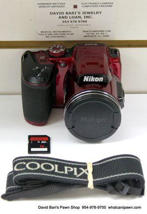 Nikon COOLPIX B500 Digital Camera 16MP + 16GB SD for Sale in Margate, FL