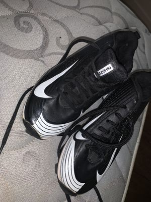 Nike Youth Vapor Cleats size 3 for Sale in Marianna, FL