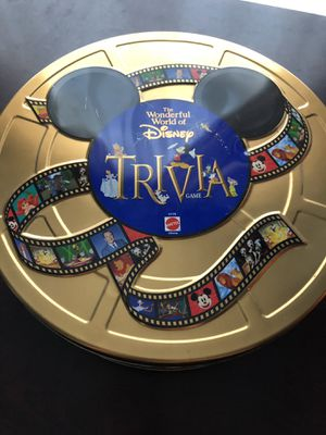 Disney trivia board game for Sale in Kissimmee, FL