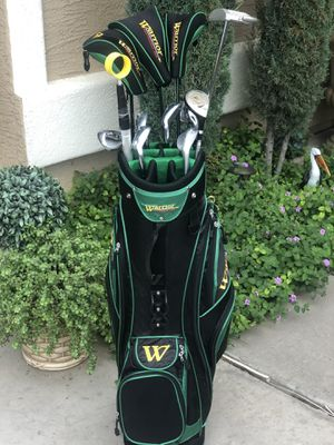 Warrior golf bag and Warrior Custom Golf Clubs for Sale in Tolleson, AZ