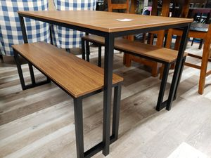 NEW Casual Dining Kitchen Set: Table & Benches for Sale in Burlington, NJ