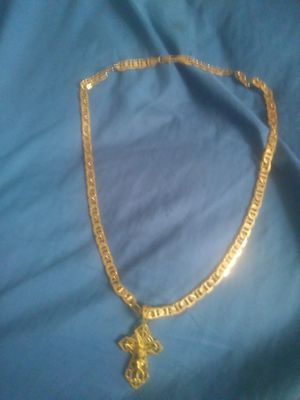 14-karat gold necklace and charm for Sale in Pittsburgh, PA