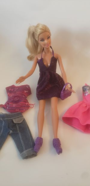 Barbie with clothes for Sale in Miami, FL