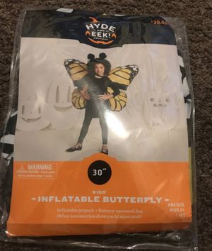 Huge Inflatable butterfly wings Halloween costume for Sale in Fresno, CA