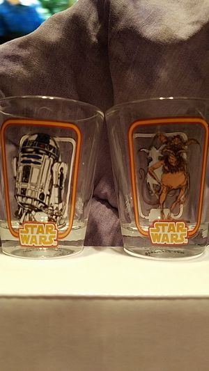 Star Wars 2pc Shot Glass set for Sale in Wood Dale, IL
