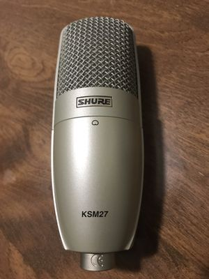 Shure KSM27 condenser mic for Sale in Rancho Cucamonga, CA