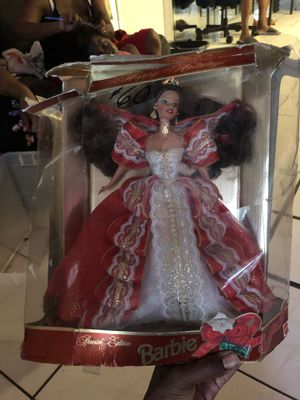 Happy Holidays 1997 Special Edition Barbie, African-american 10th Anniversary for Sale in Fort Lauderdale, FL