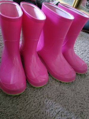 Girl's rain boots for Sale in Salinas, CA