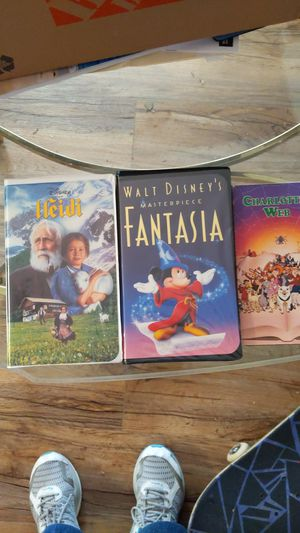 3 VHS movies for Sale in Mesa, AZ