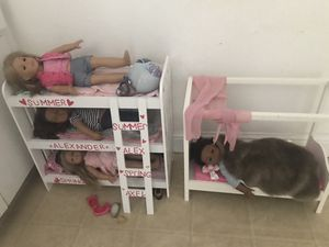American Girl dolls and beds for Sale in Pittsburg, CA