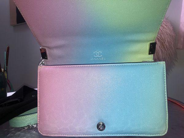 Rainbow Chanel Boy Bag