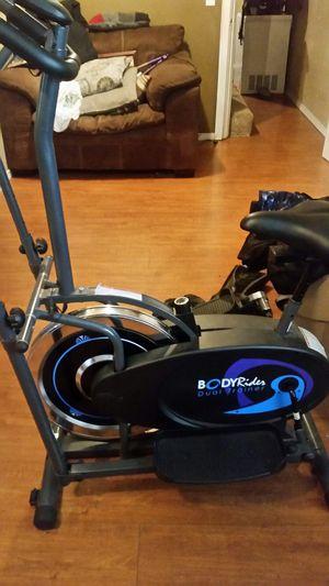 Body rider dual trainer elliptical machine for Sale in Renton, WA