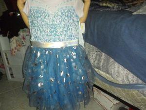 Elsa Dress..size 7/8 for Sale in Phoenix, AZ