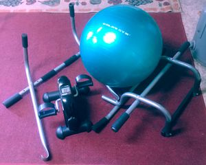 Exercise Ball Fitness Pedal Cycle & Pull up Chin up Bars for Sale in Port St. Lucie, FL