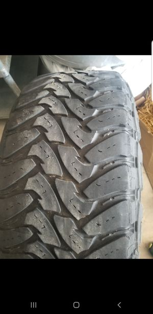 Toyo mt and weld racing rims for Sale in Cheyenne, WY
