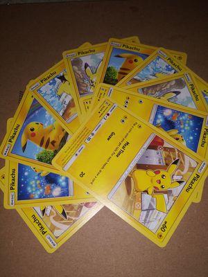 Pikachu pokemon cards for Sale in Swansea, IL