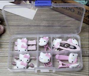 Hello Kitty box of Barrettes for Sale in Poinciana, FL
