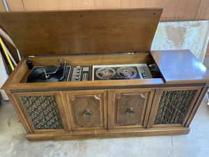 Record player stereo system reel tape from the 50s for sale for Sale in Plainfield, IN