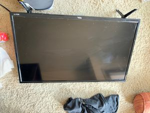 TCL Roku tv no remote for Sale in Denver, CO