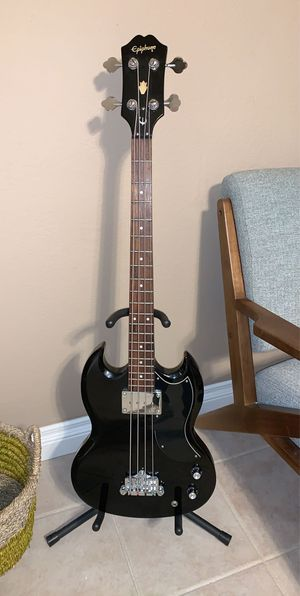 Epiphone SG electric bass guitar for Sale in Henderson, NV