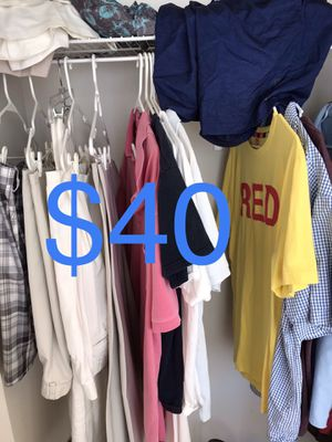 Mans clothes for Sale in Fort Lauderdale, FL