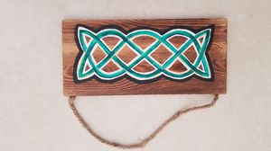 Hand painted celtic knot for Sale in Palmer, MA