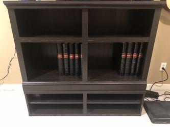 Bookcase and Media Cabinet for Sale in Mukilteo,  WA