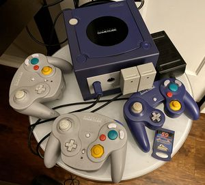 Nintendo Gamecube with wired controller & 2 wireless controllers & memory card for Sale in Burbank, CA