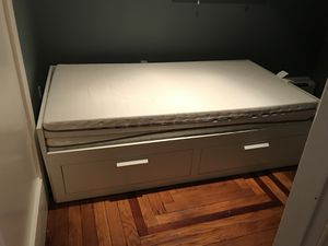 IKEA Brimnes Day Bed with Storage for Sale in Boston, MA