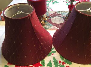 2 lamps shades for Sale in Adelphi, MD