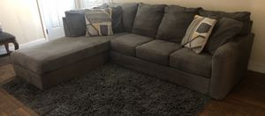 Comfy Sectional Sofa 🛋 Gray ⭐️⭐️🚚 for Sale in San Jose, CA