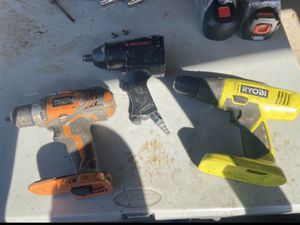 Drills and impact gun for Sale in Houston, TX