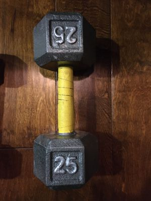 25 lbs dumbbell single for Sale in Mountain View, CA