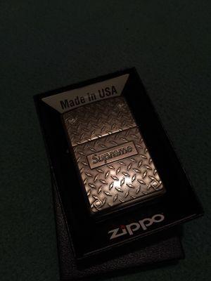 Supreme zippo for Sale in Ceres, CA