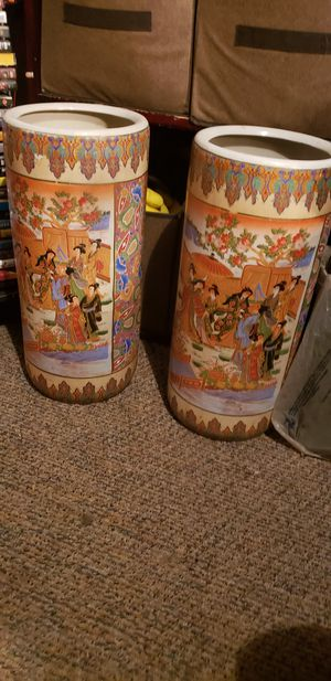 Asian ceramic vases for Sale in Mesquite, TX