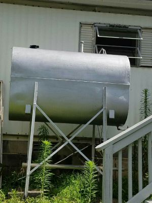 Oil tank with stand for Sale in Evington, VA