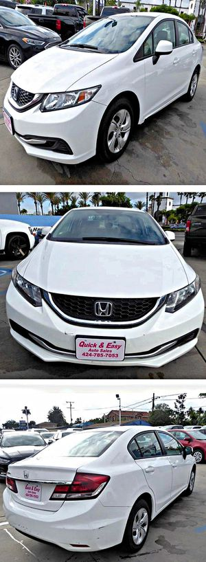 2013 Honda Civic LX Sedan 5-Speed AT for Sale in South Gate, CA