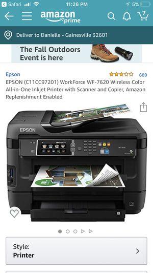 WorkForce 7620 Wireless Printer for Sale in Gainesville, FL