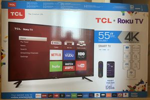Broken 55 inch TCL 4K TV for Sale in Kissimmee, FL